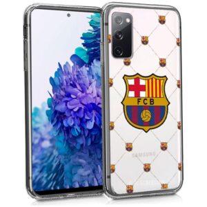 Carcasa Samsung G780 Galaxy S20 FE Licencia Fútbol F.C. Barcelona