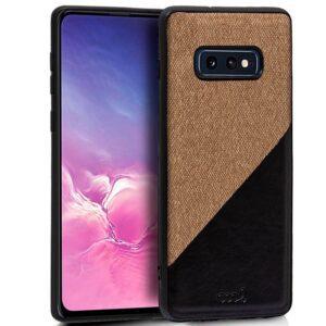 Carcasa Samsung G970 Galaxy S10e Bicolor Beige