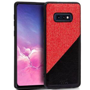 Carcasa Samsung G970 Galaxy S10e Bicolor Rojo