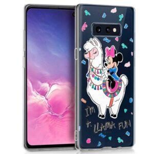 Carcasa Samsung G970 Galaxy S10e Licencia Disney Minnie Llama