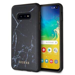 Carcasa Samsung G970 Galaxy S10e Licencia Guess Mármol Negro