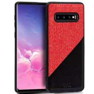 Carcasa Samsung G973 Galaxy S10 Bicolor Rojo