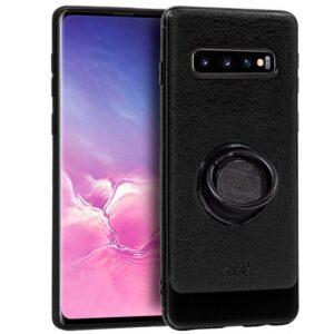 Carcasa Samsung G973 Galaxy S10 Leather Piel Negro
