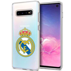 Carcasa Samsung G973 Galaxy S10 Licencia Fútbol Real Madrid Transparente