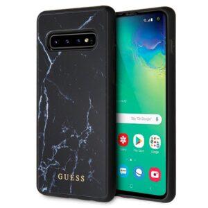 Carcasa Samsung G973 Galaxy S10 Licencia Guess Mármol Negro