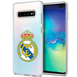Carcasa Samsung G975 Galaxy S10 Plus Licencia Fútbol Real Madrid Transparente