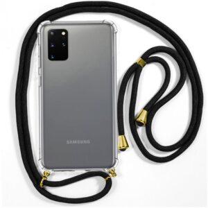 Carcasa Samsung G985 Galaxy S20 Plus Cordón Negro