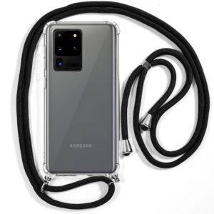 Carcasa Samsung G988 Galaxy S20 Ultra 5G Cordón Negro