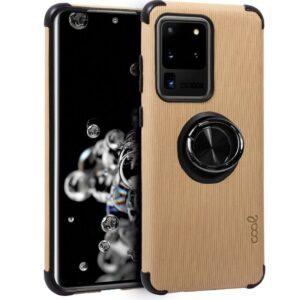 Carcasa Samsung G988 Galaxy S20 Ultra 5G Hard Tela + Anilla (Beige)