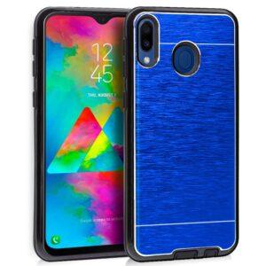 Carcasa Samsung M205 Galaxy M20 Aluminio Azul