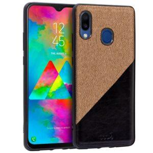 Carcasa Samsung M205 Galaxy M20 Bicolor Beige