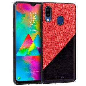Carcasa Samsung M205 Galaxy M20 Bicolor Rojo