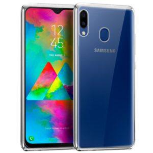 Carcasa Samsung M205 Galaxy M20 Borde Metalizado (Plata)