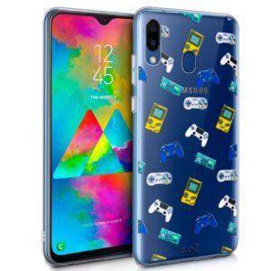 Carcasa Samsung M205 Galaxy M20 Clear Consolas