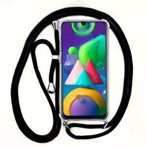 Carcasa Samsung M215 Galaxy M21 Cordón Negro