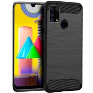 Carcasa Samsung M315 Galaxy M31 Carbón Negro