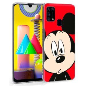 Carcasa Samsung M315 Galaxy M31 Licencia Disney Mickey
