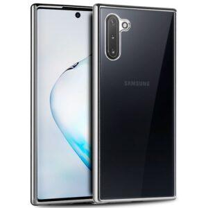 Carcasa Samsung N970 Galaxy Note 10 Borde Metalizado (Plata)