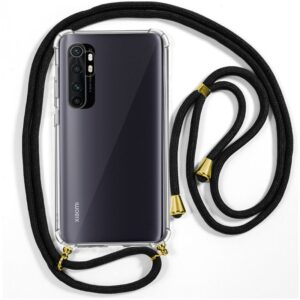 Carcasa Xiaomi Mi Note 10 Lite Cordón Negro