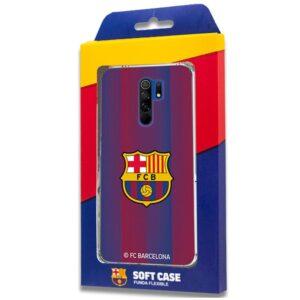 Carcasa Xiaomi Redmi 9 Licencia Fútbol F.C. Barcelona