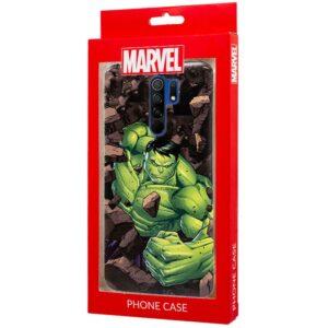 Carcasa Xiaomi Redmi 9 Licencia Marvel Hulk