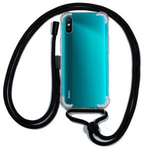 Carcasa Xiaomi Redmi 9A / 9AT Cordón Negro