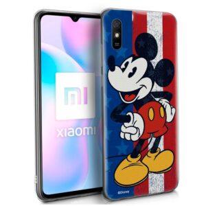 Carcasa Xiaomi Redmi 9A / 9AT Licencia Disney Mickey