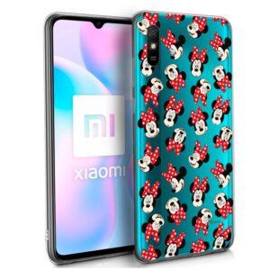 Carcasa Xiaomi Redmi 9A / 9AT Licencia Disney Minnie