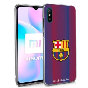 Carcasa Xiaomi Redmi 9A / 9AT Licencia Fútbol F.C. Barcelona
