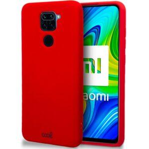 Carcasa Xiaomi Redmi Note 9 Cover Rojo