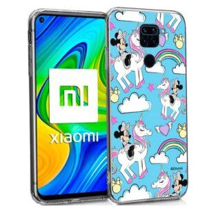 Carcasa Xiaomi Redmi Note 9 Licencia Disney Minnie