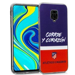 Carcasa Xiaomi Redmi Note 9S / Note 9 Pro Licencia Fútbol Atlético De Madrid