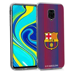 Carcasa Xiaomi Redmi Note 9S / Note 9 Pro Licencia Fútbol F.C. Barcelona