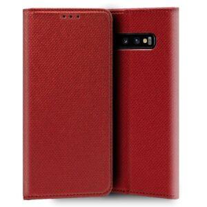 Funda Flip Cover Samsung G973 Galaxy S10 Liso Rojo