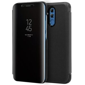 Funda Flip Cover Huawei Mate 20 Lite Clear View Negro