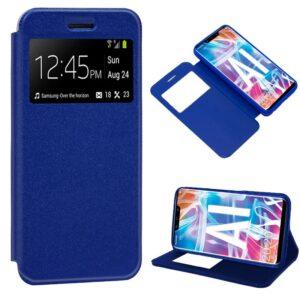 Funda Flip Cover Huawei Mate 20 Lite Liso Azul