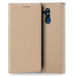 Funda Flip Cover Huawei Mate 20 Lite Liso Beige