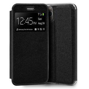Funda Flip Cover IPhone 11 Pro Liso Negro