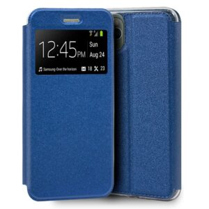 Funda Flip Cover IPhone 11 Pro Max Liso Azul