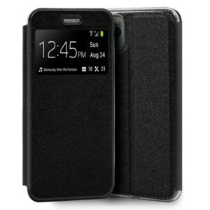 Funda Flip Cover IPhone 11 Pro Max Liso Negro