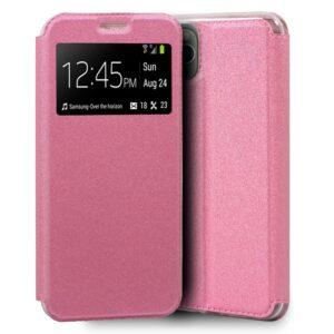 Funda Flip Cover IPhone 11 Pro Max Liso Rosa