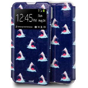 Funda Flip Cover IPhone 12 / 12 Pro Dibujos Tiburón