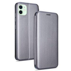 Funda Flip Cover IPhone 12 / 12 Pro Elegance Plata