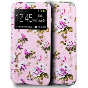 Funda Flip Cover IPhone 12 Mini Dibujos Flores