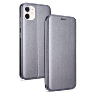 Funda Flip Cover IPhone 12 Mini Elegance Plata