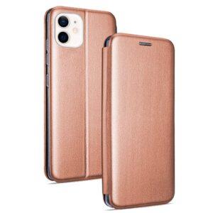 Funda Flip Cover IPhone 12 Mini Elegance Rose Gold