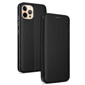Funda Flip Cover IPhone 12 Pro Max Elegance Negro