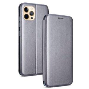 Funda Flip Cover IPhone 12 Pro Max Elegance Plata