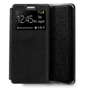 Funda Flip Cover IPhone 7 / 8 / SE (2020) Liso Negro