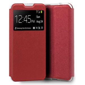 Funda Flip Cover IPhone 7 / 8 / SE (2020) Liso Rojo